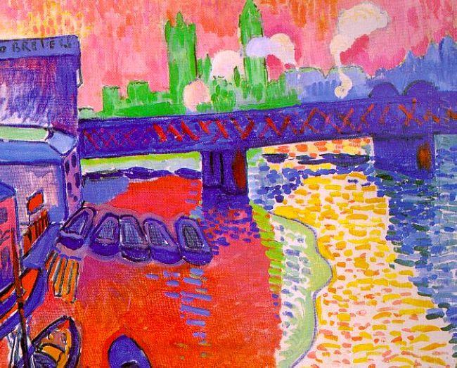 charing cross bridge 1906