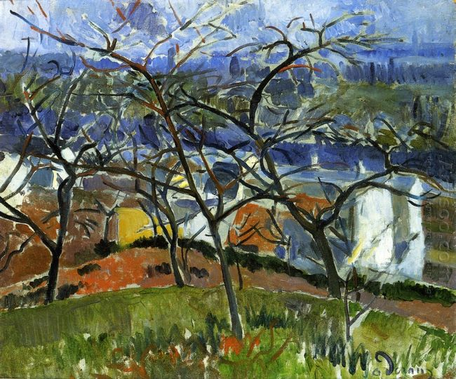 landscape near chatou 1904