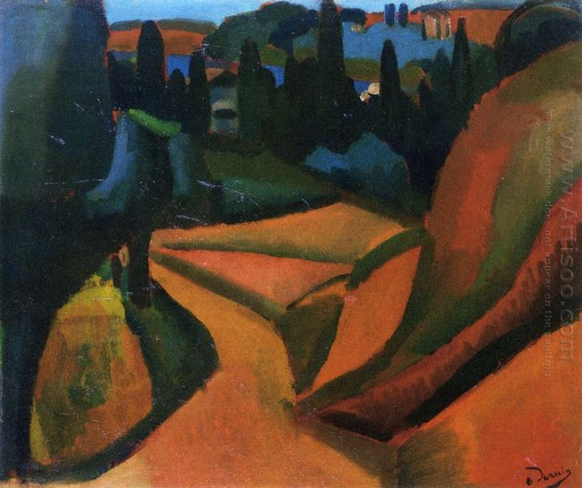 landscape near martigues 1908