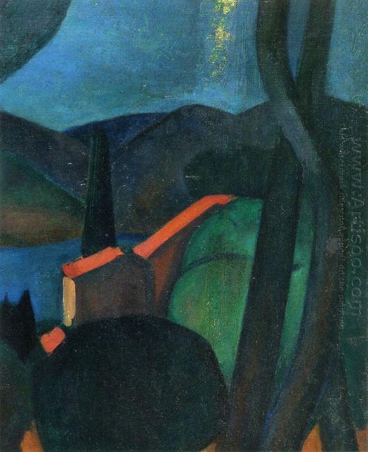 martigues landscape 1908