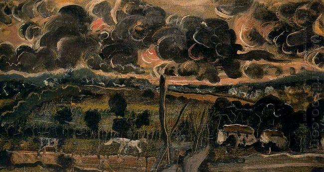 ominous landscape 1950