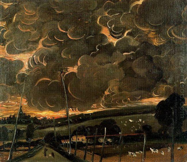 sorrowful landscape 1946