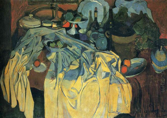 still life on the table 1904