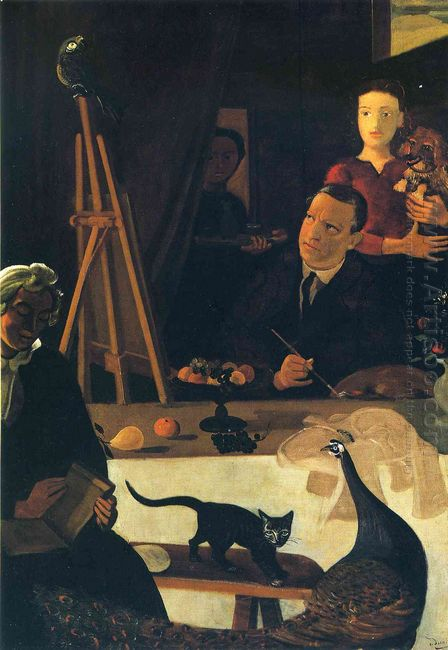 the painter and his family 1939