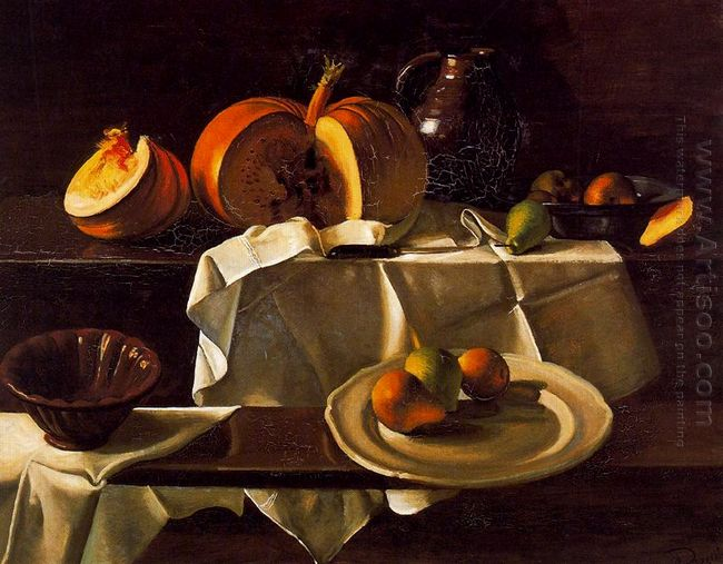 the still life with pumpkin 1939
