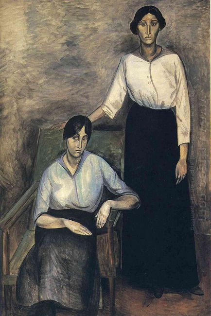 the two sisters 1913