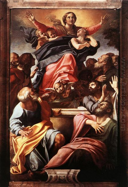 assumption of the virgin mary 1601