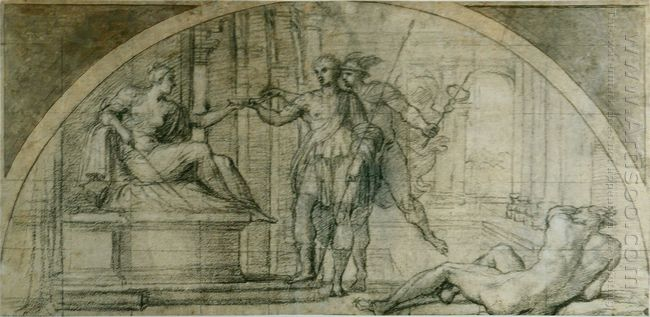 mercury protecting ulysses from the charms of circe