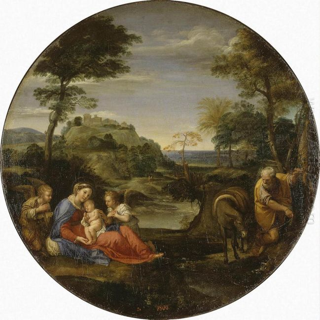 rest on flight into egypt