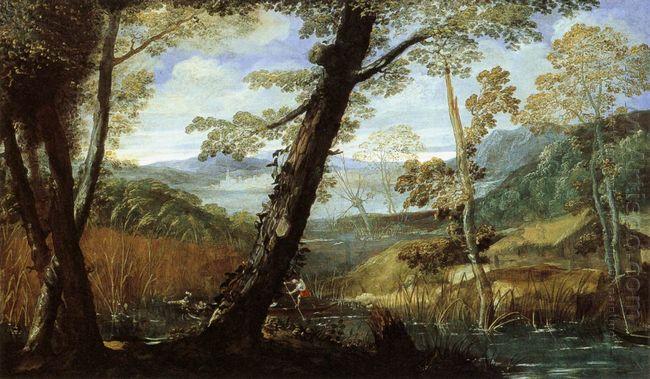 river landscape 1590