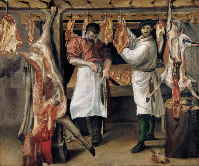 the butcher s shop