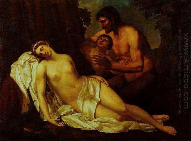 venus inebriated by a satyr la nuda