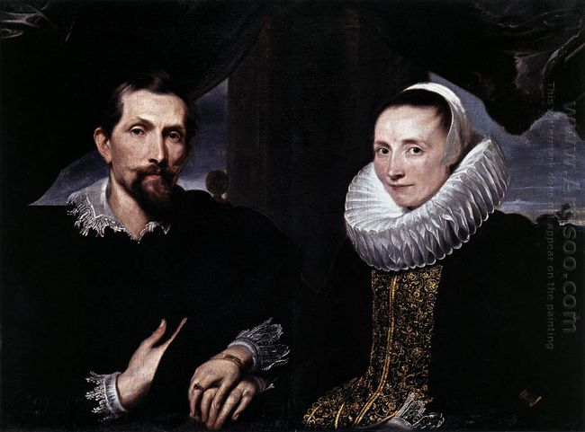 double portrait of the painter frans snyders and his wife