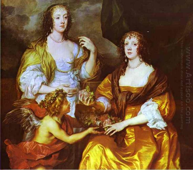 lady elizabeth thimbleby and dorothy viscountess andover 1637