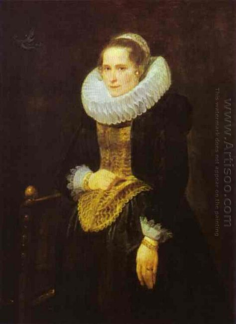 portrait of a flemish lady 1621