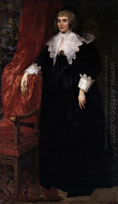 portrait of anna van craesbecke 1635