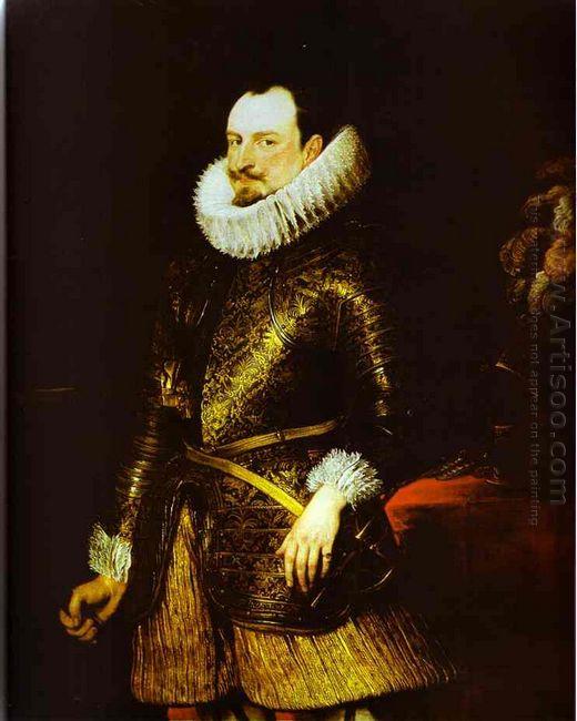 portrait of emmanuel philibert 1624