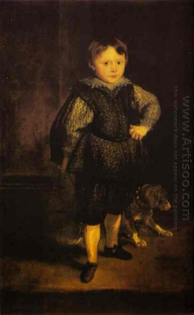 portrait of filippo cattaneo son of marchesa elena grimaldi 1623