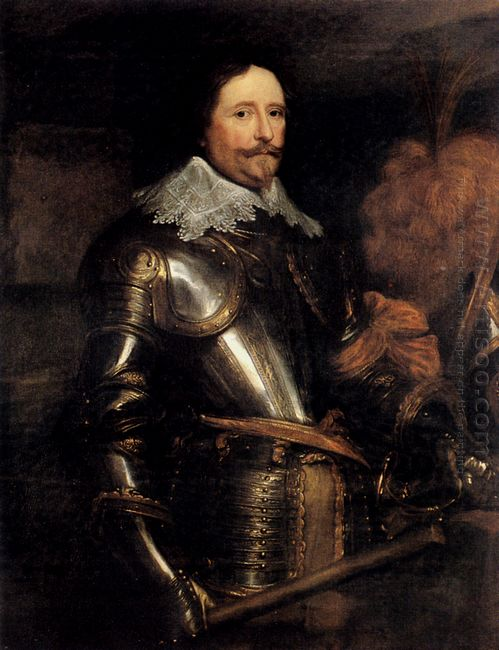 portrait of frederik hendrik 1632