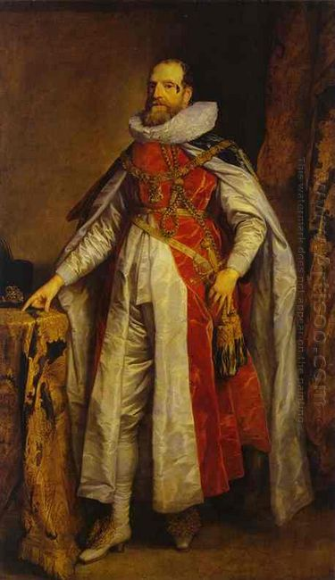 portrait of henry danvers earl of danby as a knight of the order