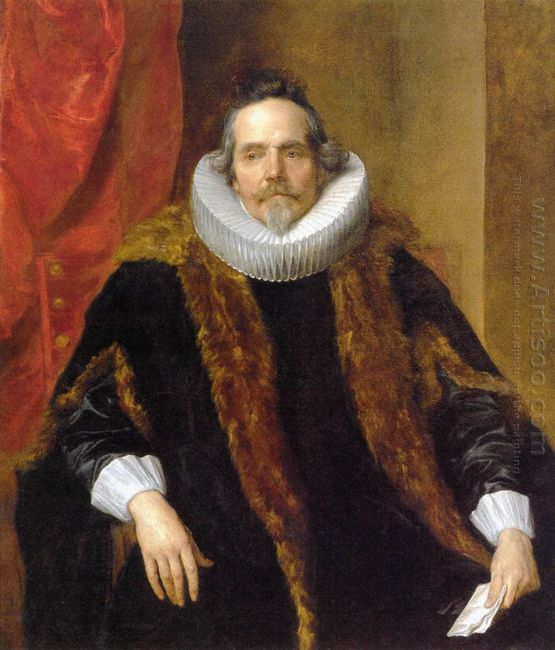 portrait of jacques le roy 1631