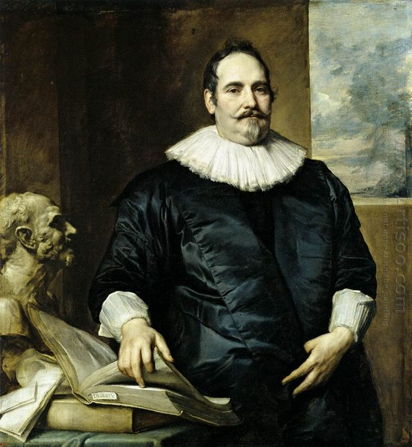 portrait of justus van meerstraeten 1635