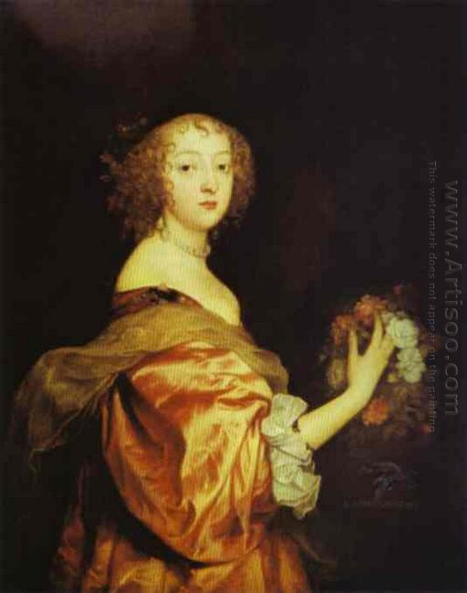 portrait of lady d aubigny 1638