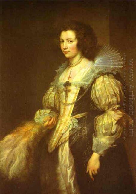 portrait of maria louisa de tassis