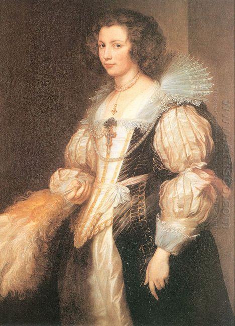 portrait of maria lugia de tassis 1629