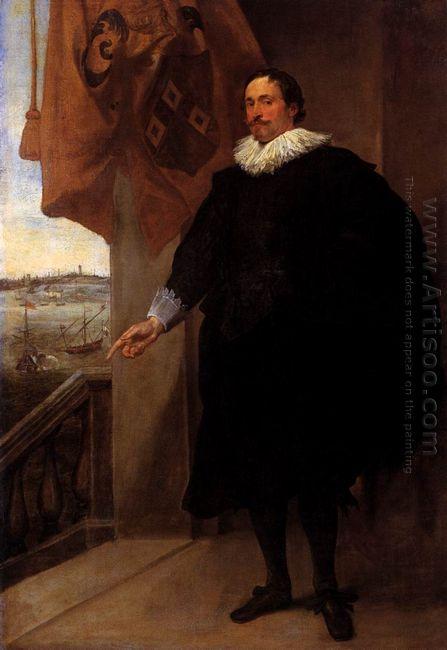 portrait of nicolaes van der borght