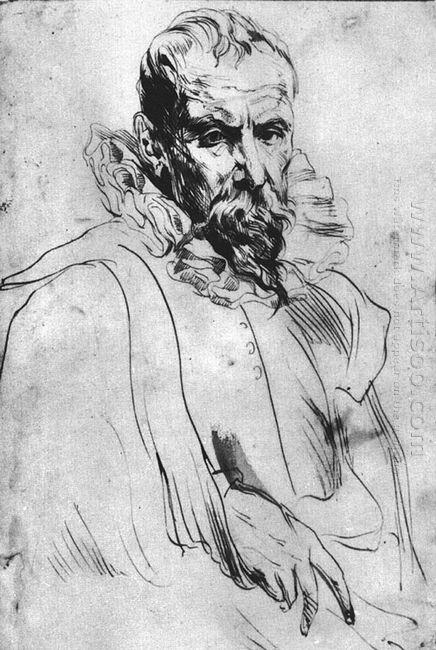 portrait of pieter bruegel the younger