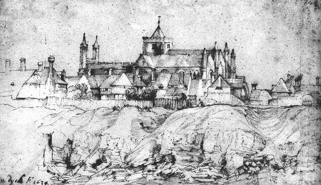 st mary s church at rye england 1634
