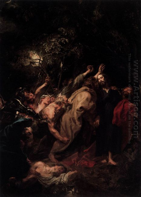the capture of christ 1620