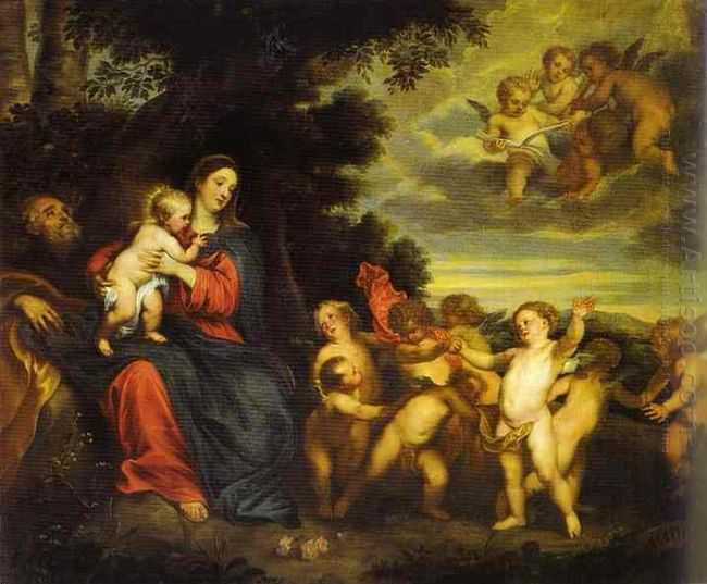 the rest on the flight to egypt 1630