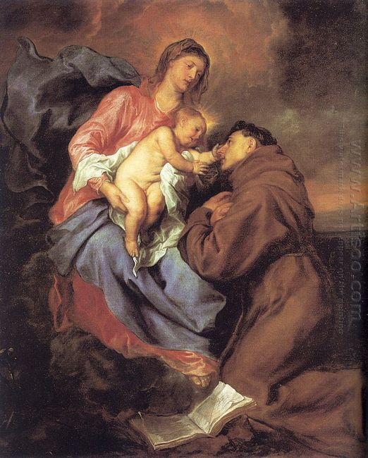 the vision of st anthony 1629