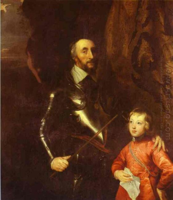 thomas howard 2nd earl of arundel and surrey with his grandson l