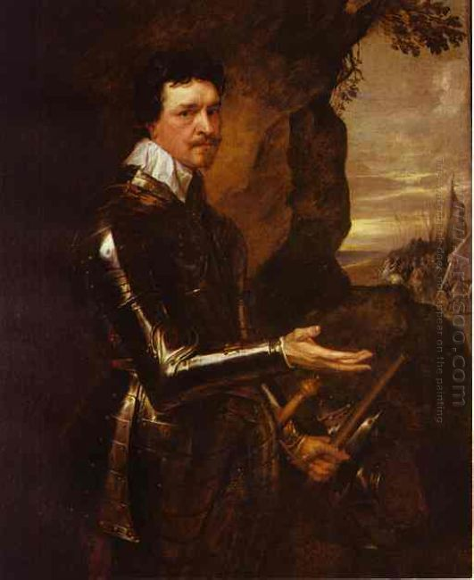 thomas wentworth 1st earl of strafford in an armor 1639