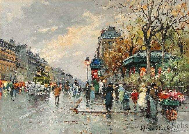 la rue lafayette et le square montholon