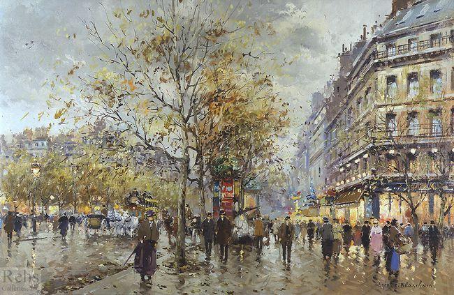 le boulevard paris