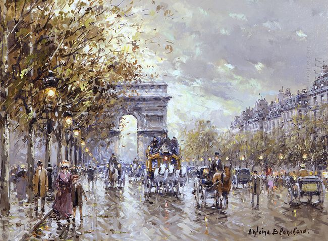 paris l arc de triomphe