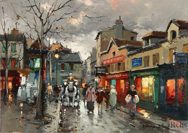 rue norvins place du tertre montmartre