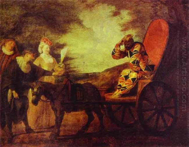 arlecchino emperor in the moon 1708