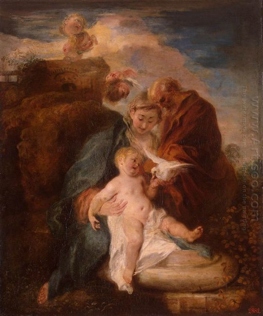 the holy family 1719
