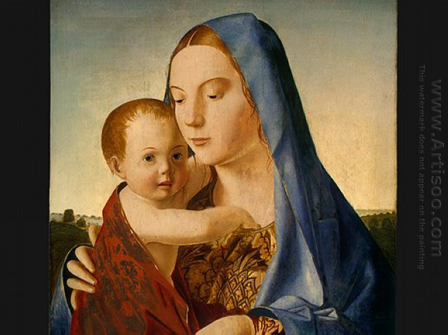 madonna and child 1475