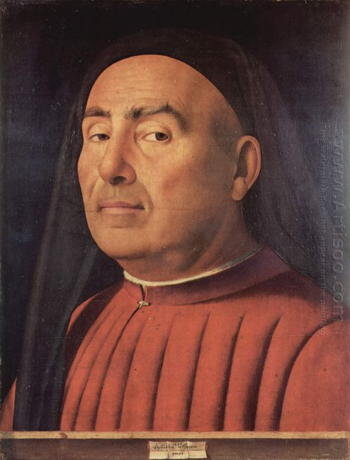 portrait of a man trivulzio portrait 1476