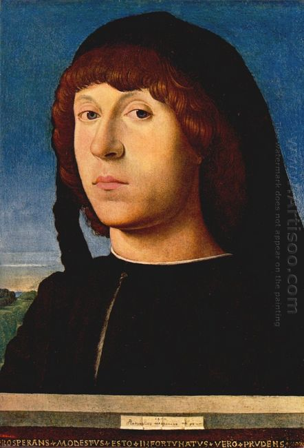 portrait of a young man 1478