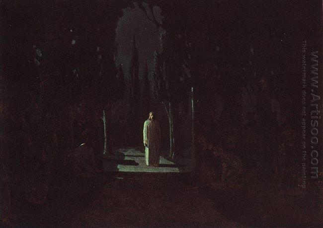 christ in the garden of gethsemane 1901