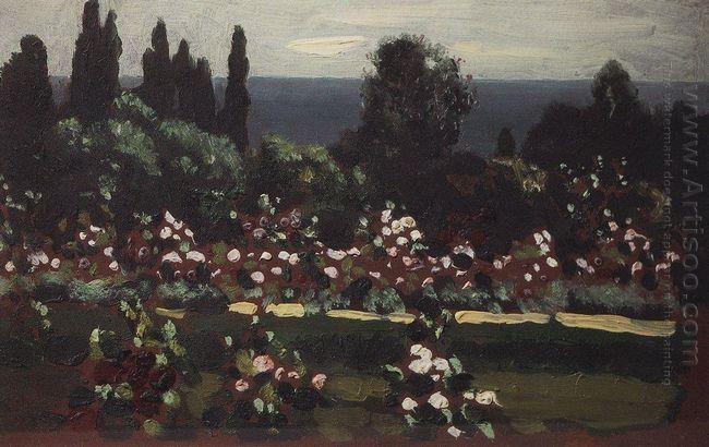 flower garden caucasus 1908