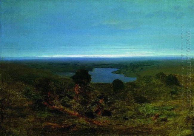 lake evening