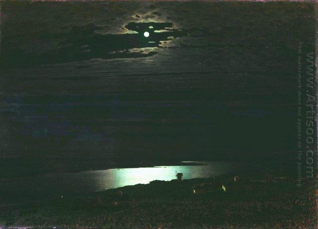 moonlight night on the dnieper 1880